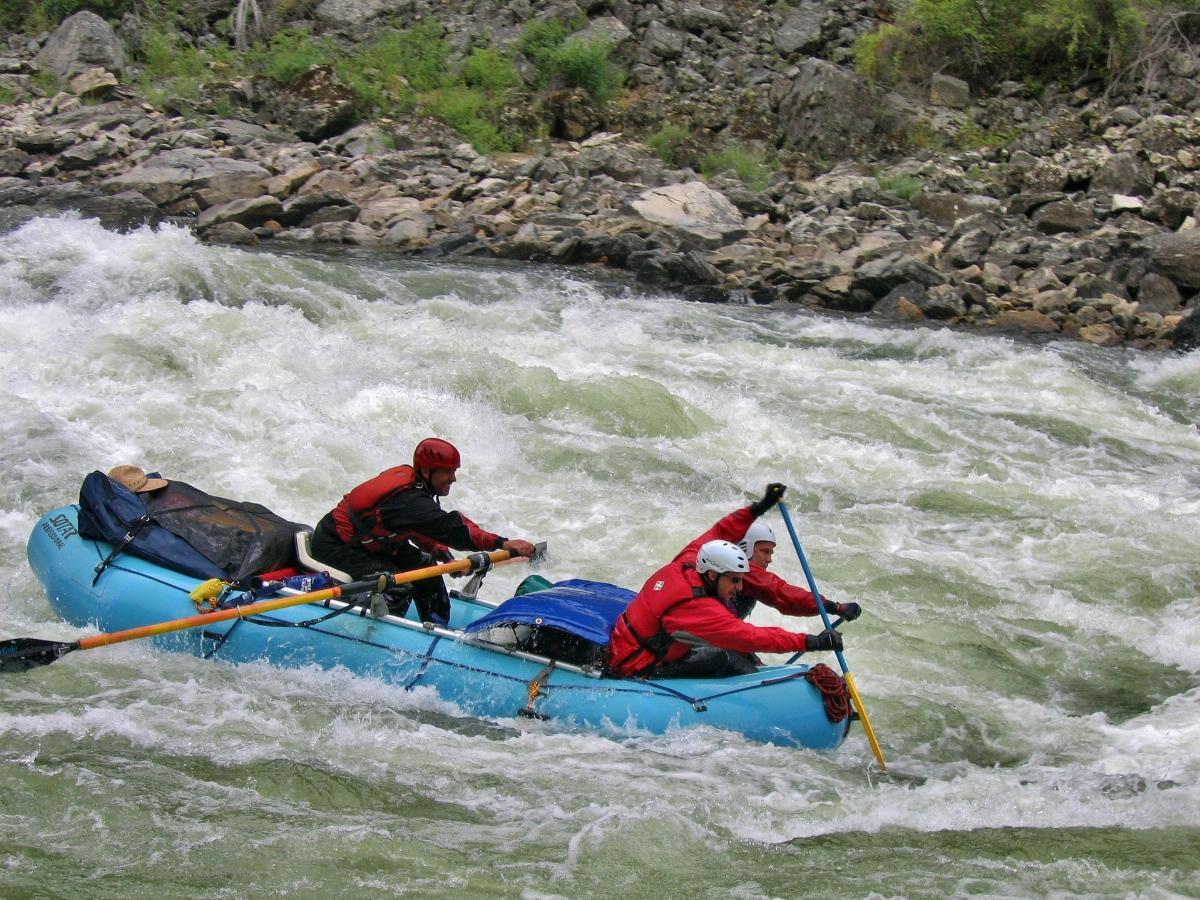 Perché praticare il rafting